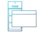 Koperty do kalendarzy z nadrukiem